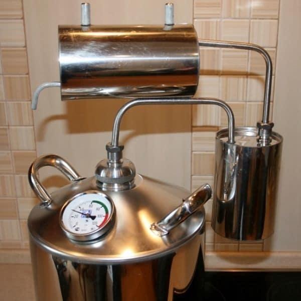 чистка аппарата для самогона