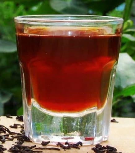 алкоголь из чая