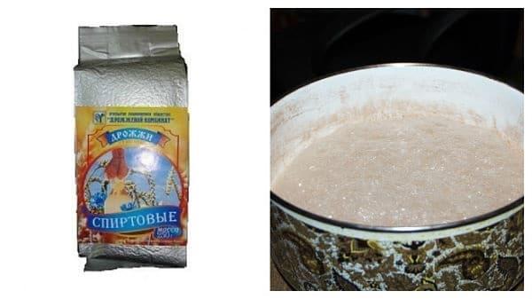 спиртовые прессованные дрожжи рецепты сахарной браги