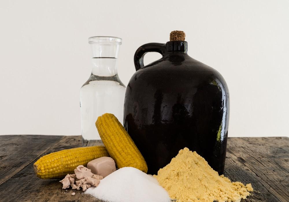 Ингредиенты для приготовления браги на муке