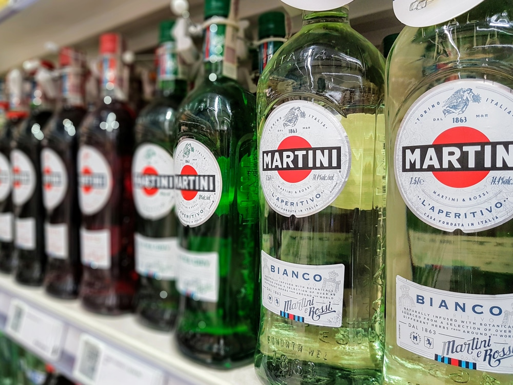 Производство мартини
