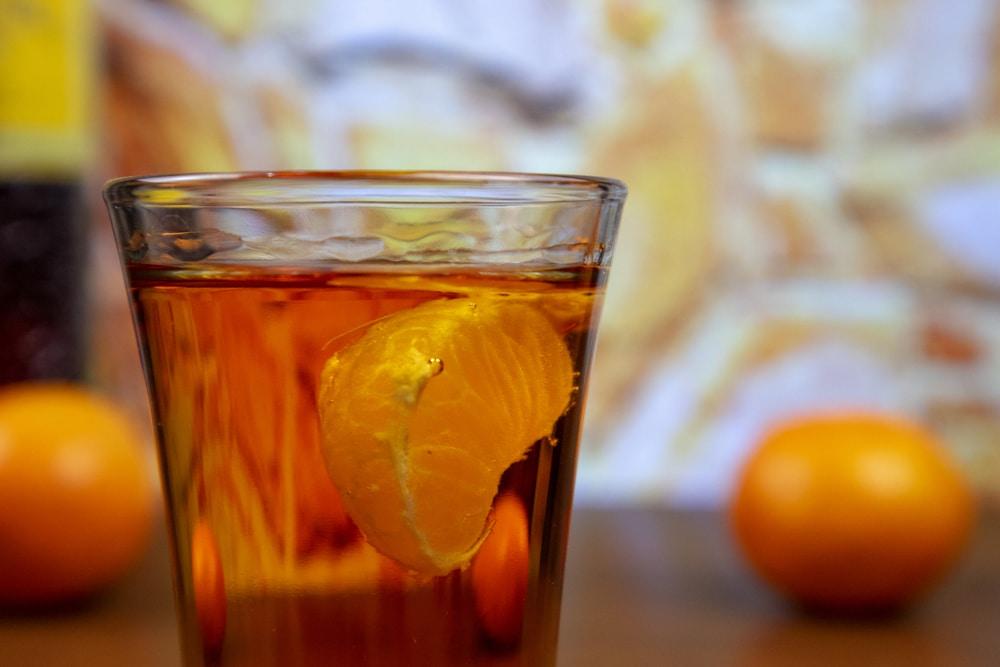 Спиртные напитки на основе мандаринов