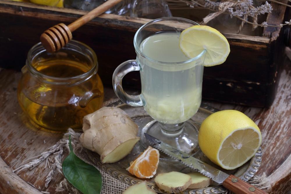 Имбирная настойка на водке с медом