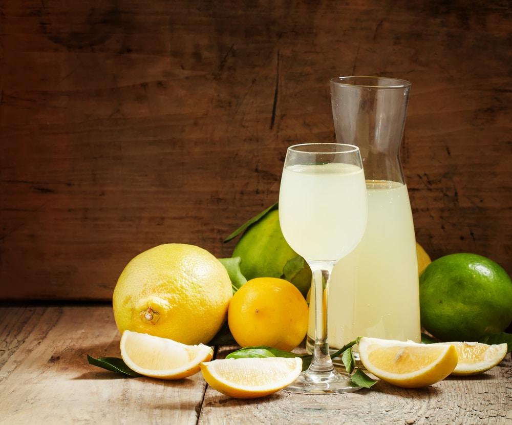 Самогон на лимонах