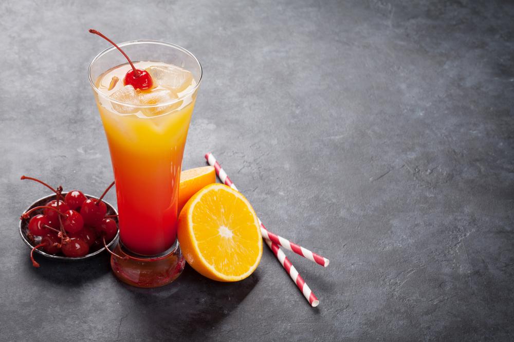Варианты коктейля Tequila Sunrise